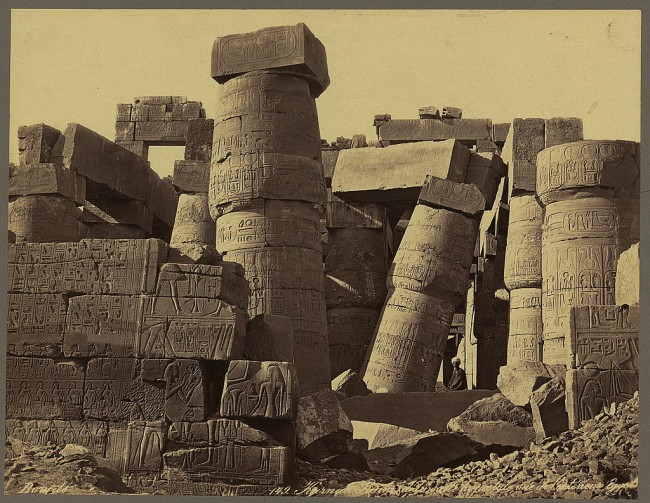Photos of Ancient Egyptian Monuments More Than 100 Years Ago 16 650x503 Photos of Ancient Egyptian Monuments More Than 100 Years Ago
