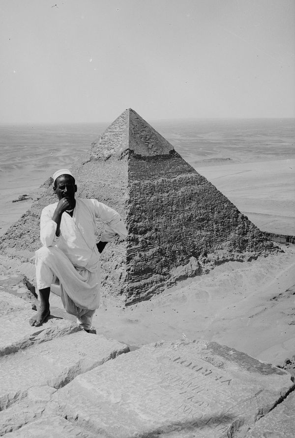 Photos of Ancient Egyptian Monuments More Than 100 Years Ago 2 Photos of Ancient Egyptian Monuments More Than 100 Years Ago