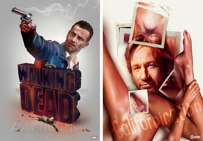 PostersAdamSpizak00 Brilliant TV Show Posters by Adam Spizak
