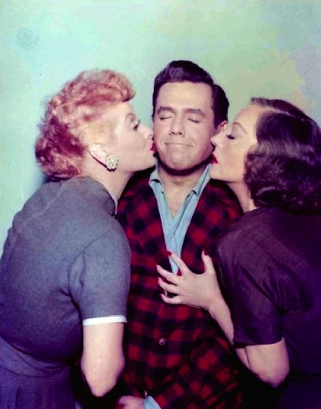 Rare Color Photos of I Love Lucy 3 Rare Color Photos of I Love Lucy