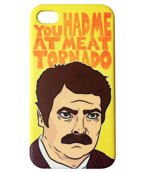 Ron Swanson Meat Tornado Iphone 01 grande Pop Culture IPhone Covers