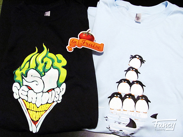 T shirt review Why so serious and Fonte des glaces from laFraise 02 T shirt review: Why so serious? and Fonte des glaces from laFraise