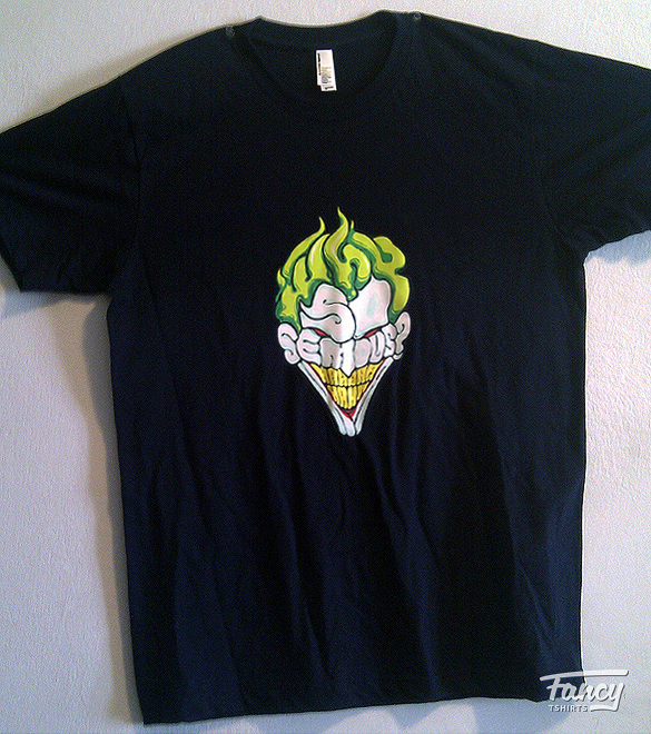 T shirt review Why so serious and Fonte des glaces from laFraise 04 T shirt review: Why so serious? and Fonte des glaces from laFraise