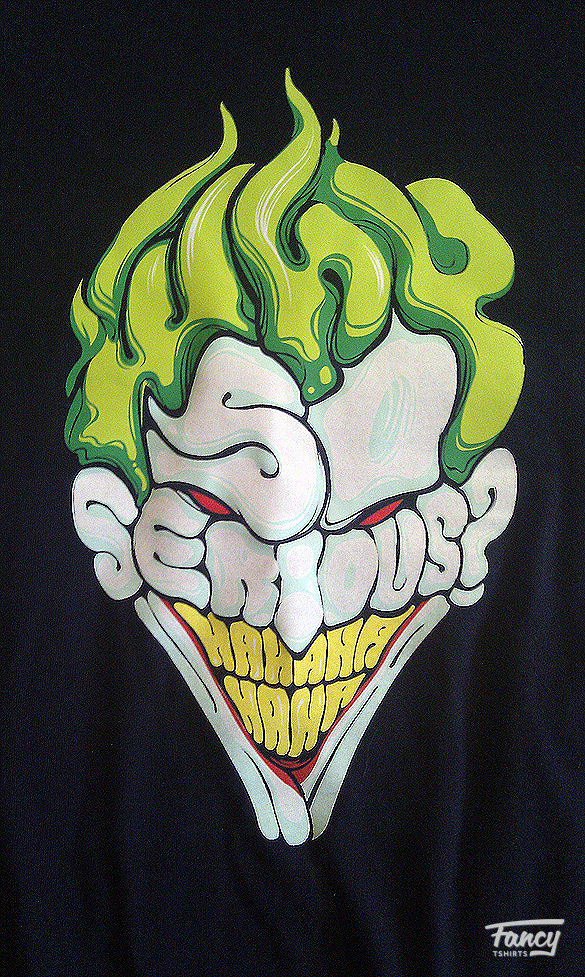 T shirt review Why so serious and Fonte des glaces from laFraise 05 T shirt review: Why so serious? and Fonte des glaces from laFraise