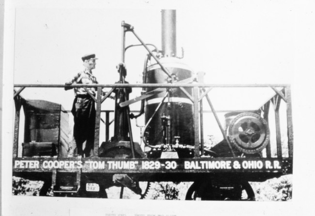 Tom Thumb 2 650x446 Old Photos of Tom Thumb   The First American Built Steam Locomotive