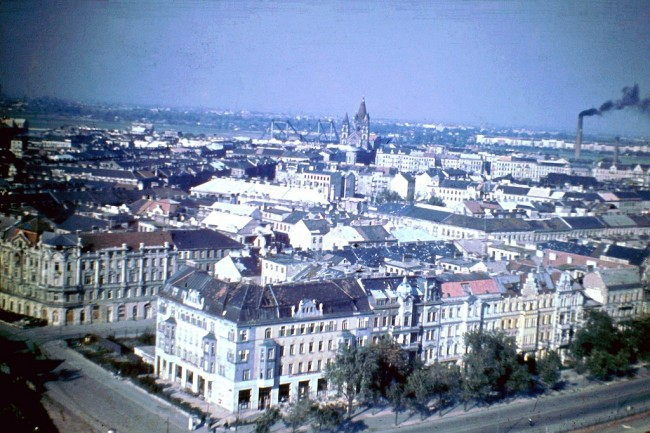 Vienna 1948 1 650x433 Color Photos of Vienna in 1948