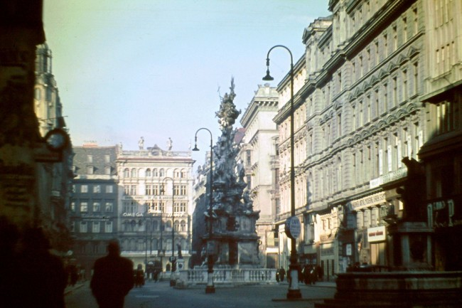 Vienna 1948 2 650x433 Color Photos of Vienna in 1948