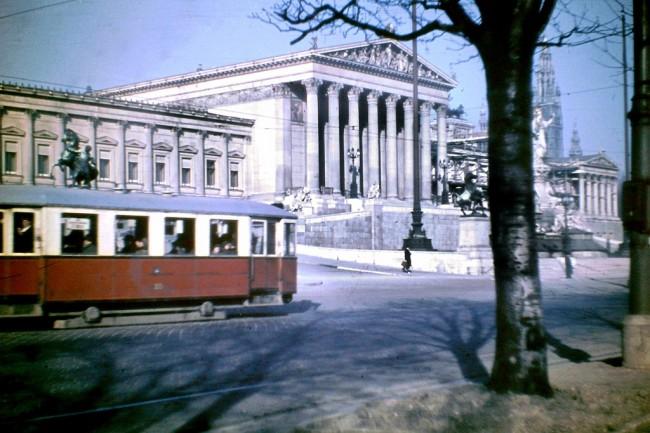 Vienna 1948 4 650x433 Color Photos of Vienna in 1948