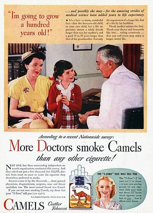 Vintage Healthy Cigarette Ads 3 Vintage Healthy Cigarette Ads