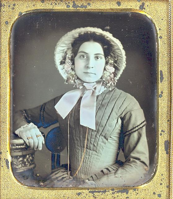 Women in Bonnets 1 Women in Bonnets