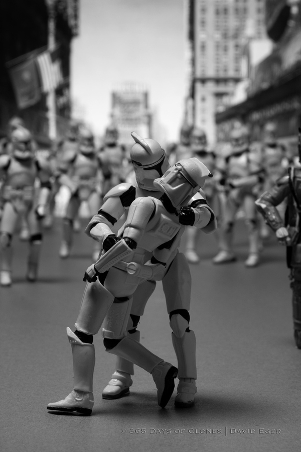 Iconic Images Recreated Featuring Troopers from Star Wars