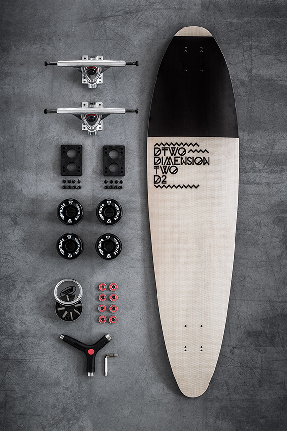 dtwo longboard surf Dimension Two Longboards