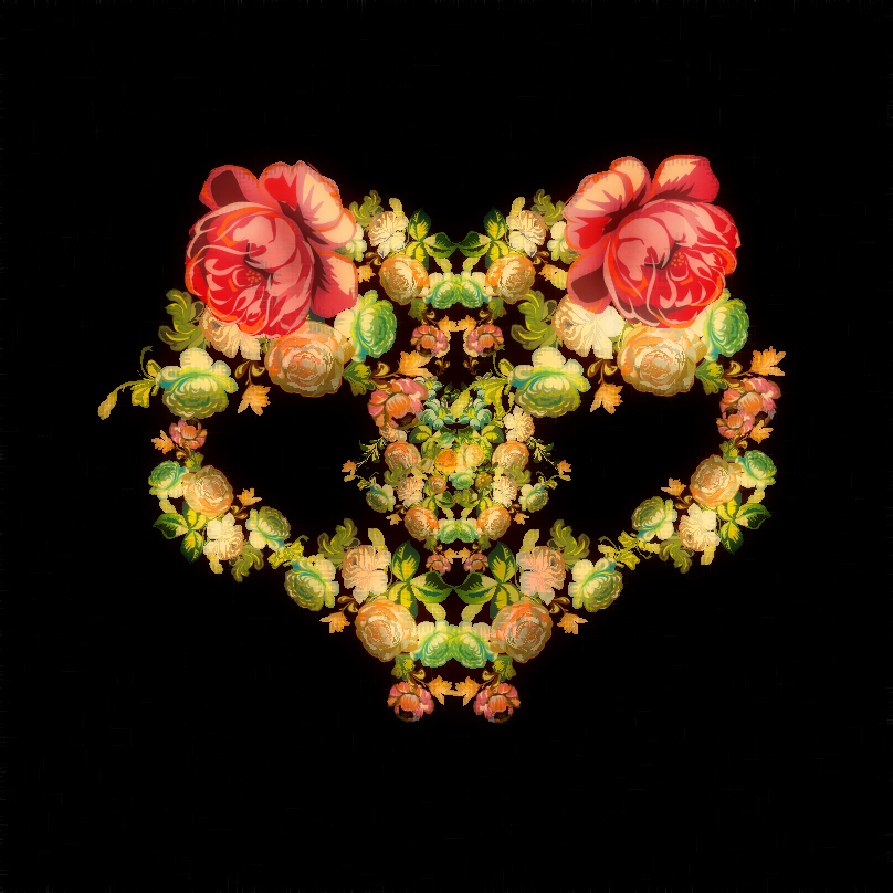 flowerfashion01 Creepy Enflorage: velvet project by contemporary artist Cristian Grossi