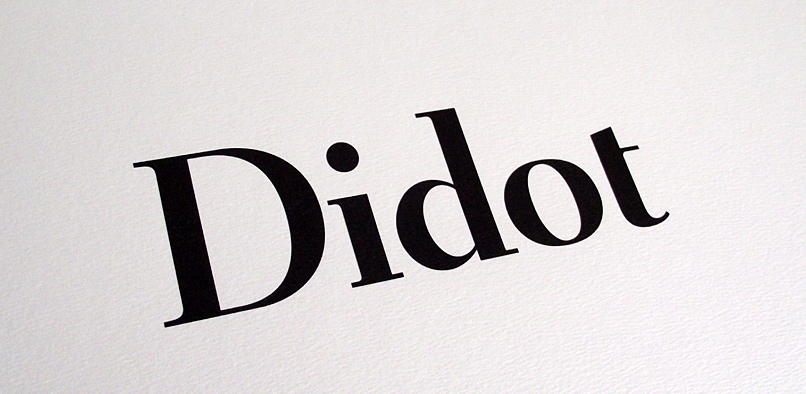 hft012 didot headline pr6 12 Didot Headline Font