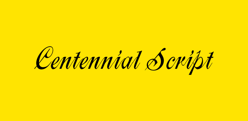 hft187 centennial pr1  35% OFF Centennial Font