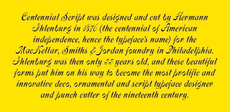 hft187 centennial pr3  35% OFF Centennial Font