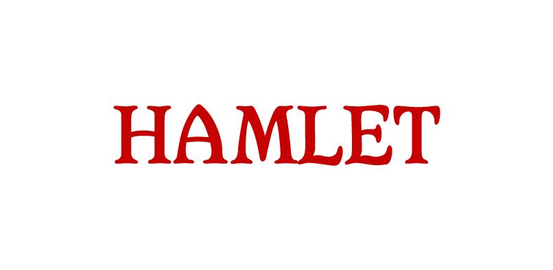 hft194 hamlet pr1 Hamlet Font