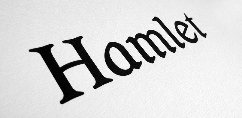 hft194 hamlet pr4 Hamlet Font