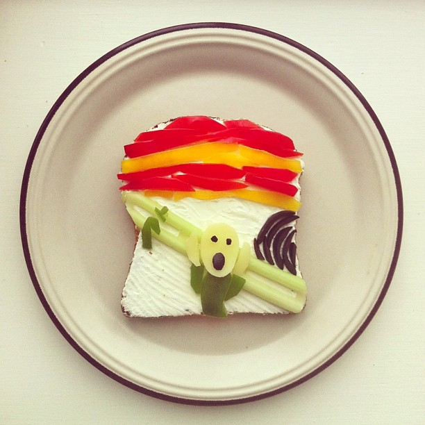 ida frosk 04 This Creative Food Art Will Surely Brighten Your Day