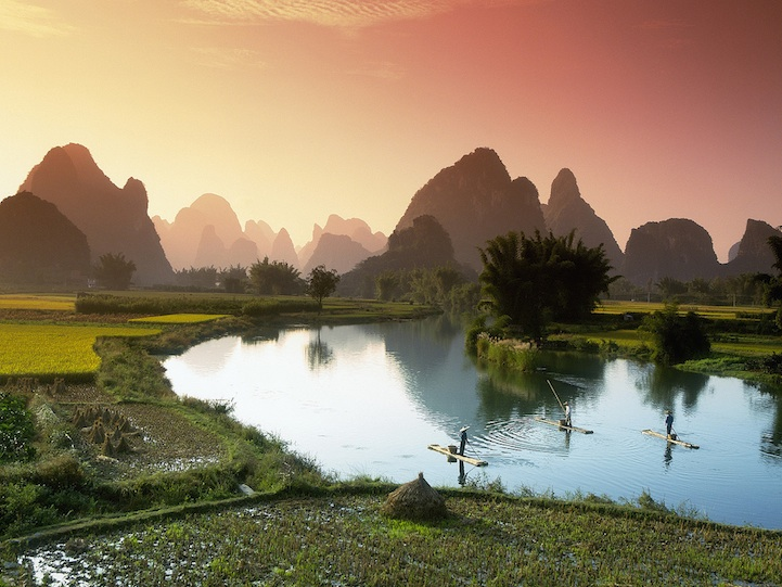 li river 10 Breathtaking Photos of Chinas River of Poems and Paintings
