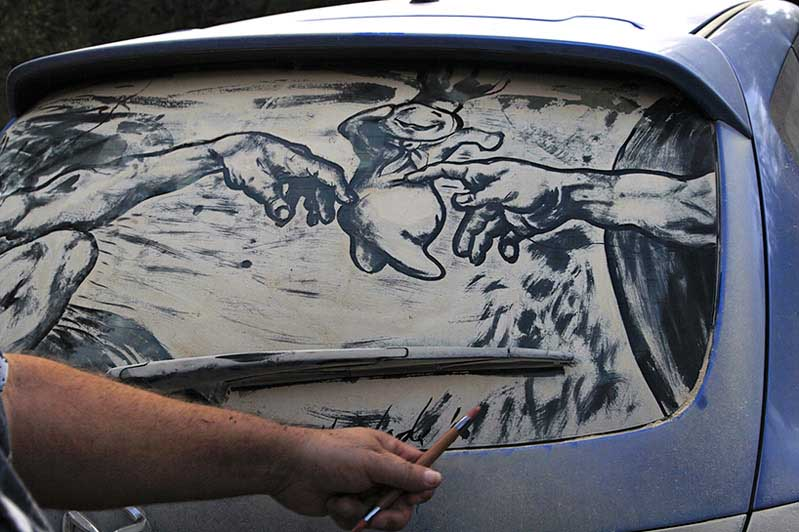 rapture213 20 Dirty Car Artworks by Scott Wade