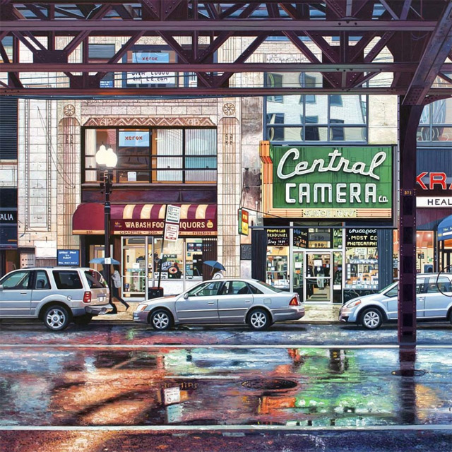 realistic urban paintings 6 Realistic Urban Paintings
