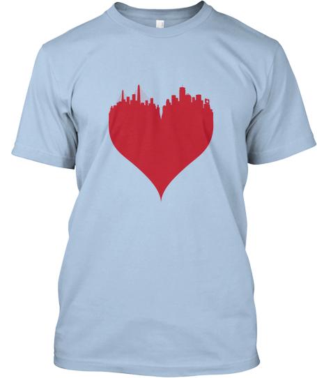 shirtFront #BostonLove T Shirt to benefit One Fund Boston
