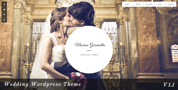 00 preview   large preview111 Top 15 Premium WordPress Themes for a Wedding