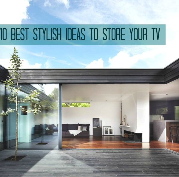 10 Best Stylish Ideas To Store your TV  TV DECOR IDEAS