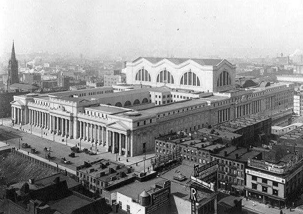 Black White Photos of Pennsylvania Station in The 1910s 20s 1 Black & White Photos of Pennsylvania Station in The 1910s 20s
