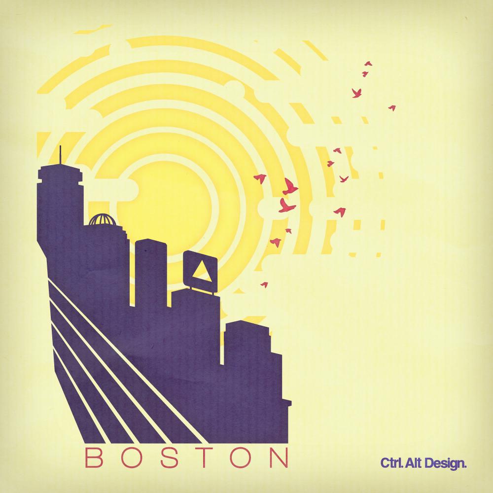 Boston SummerDays CtrlAltDesign 001 Boston Summer Evening by Ctrl Alt Design