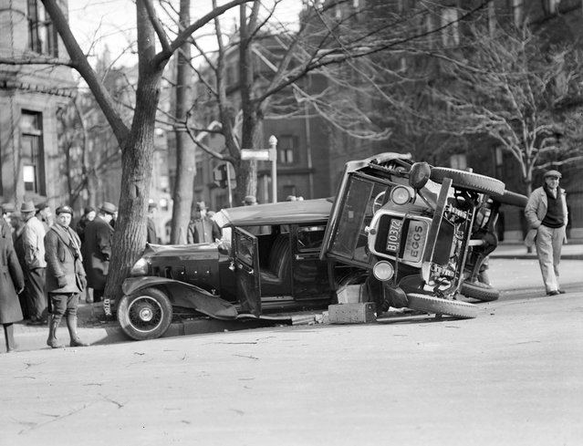 Old Photos of Car Accidents