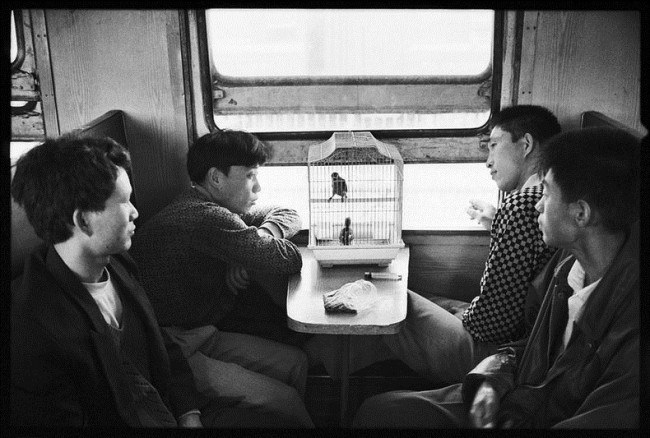 Chinese People on Trains c 1 650x438 Photos of Chinese People on Trains, c.1970s