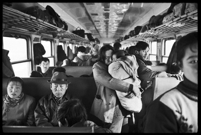 Chinese People on Trains c 14 650x438 Photos of Chinese People on Trains, c.1970s