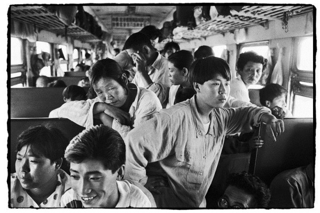 Chinese People on Trains c 6 650x433 Photos of Chinese People on Trains, c.1970s