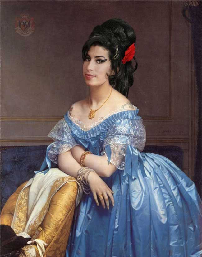 Classic Paintings Modern Celebrities 11 Modern Renaissance, Classic Paintings Recreated With Celebrity Faces