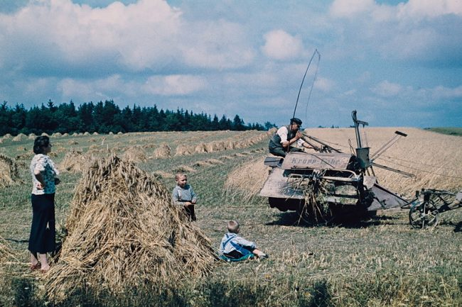 Color Photos of The Third Reich Agriculture in Mecklenburg 1938 1 650x433 Color Photos of The Third Reich Agriculture in Mecklenburg, Germany, 1938