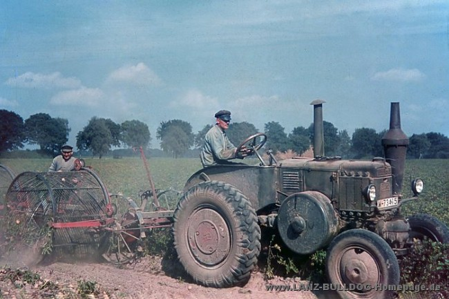 Color Photos of The Third Reich Agriculture in Mecklenburg 1938 3 650x433 Color Photos of The Third Reich Agriculture in Mecklenburg, Germany, 1938