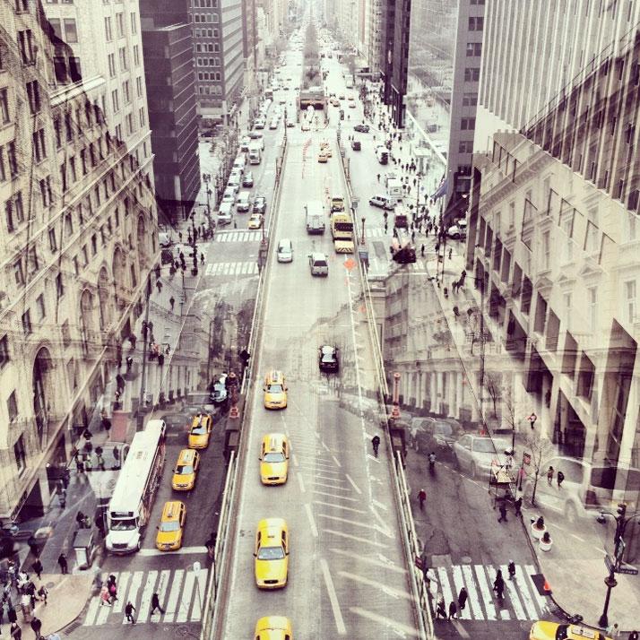 DaniellaZalcman3 Double Exposures Blur Lines Between New York and London