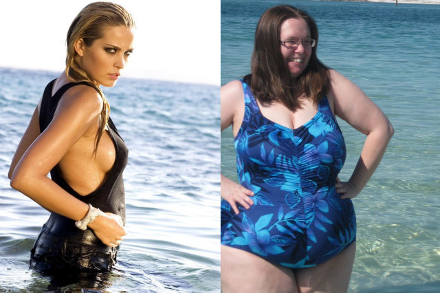 Having the perfect bikini body 20 Reality Almost Always Fails to Reach Your Expectations