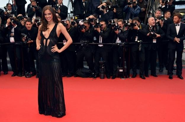 Irina Shayk 30 Random, Busty, And Sparkly Cannes Fashion Highlights