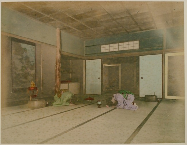 Japanese Dwelling of The 19th Century 1 650x506 Japanese Dwelling of The 19th Century