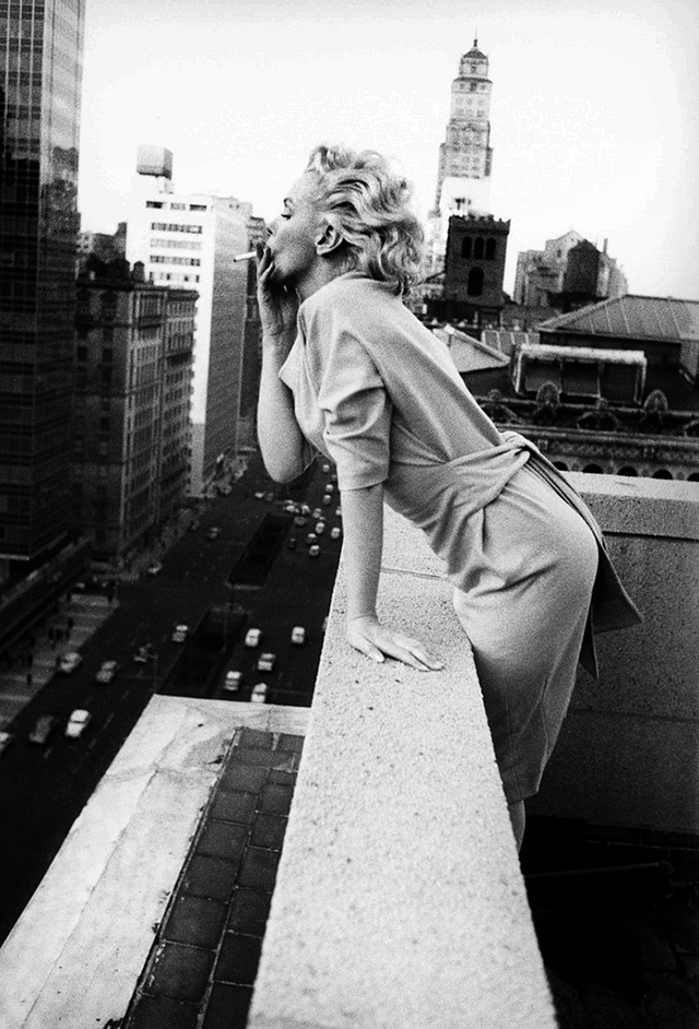 Marilyn Monroe by Ed Feingersh 16 Photos of Marilyn Monroe in Four Days in New York, 1955 by Ed Feingersh