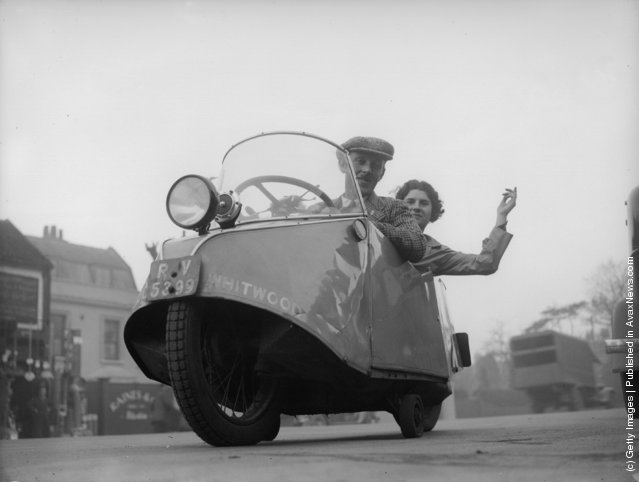 Old Photos of Midget Cars