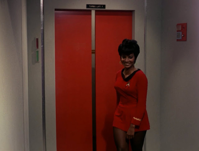 Mini Skirts in Star Trek 1966 2 Mini Skirts in Star Trek, 1966