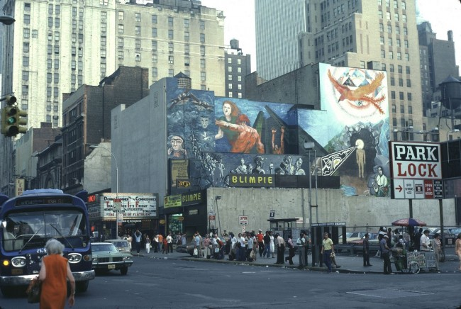 New York 1970s 10 650x436 Wonderful Color Photos of New York in 1970s
