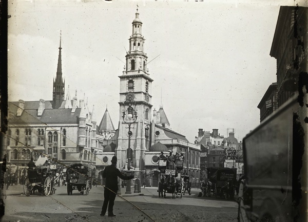 Old Photos of City Churches in London 1 Old Photos of City Churches in London A Century Ago