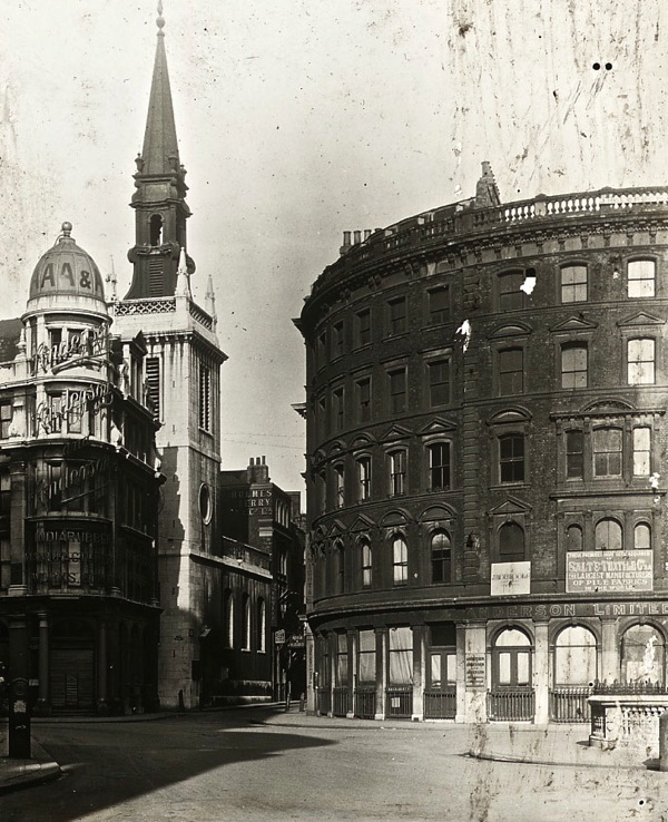 Old Photos of City Churches in London 2 Old Photos of City Churches in London A Century Ago