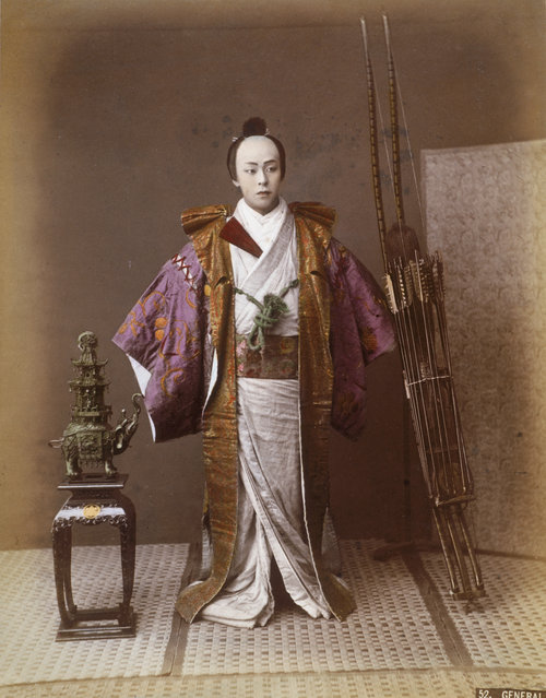 Old Photos of Japanese 130 Years Ago