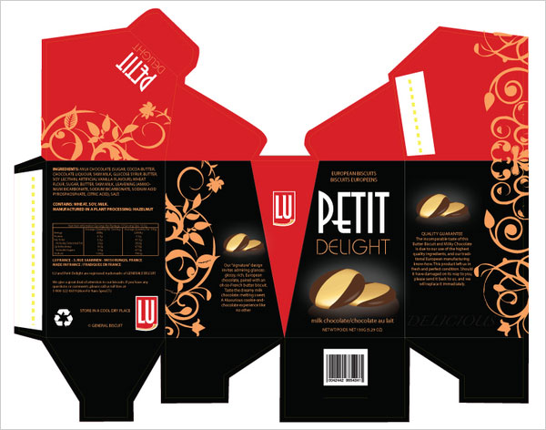 PETIT DELIGHT Biscuit Packaging design 3 New Collection of Biscuits & Cookies Packaging For Inspiration
